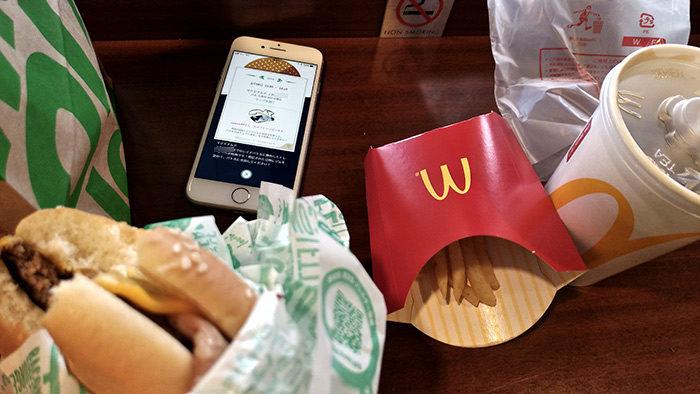 マクドナルドには行かない派