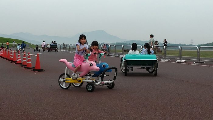 変わり種自転車に乗りまくれる有料サービス