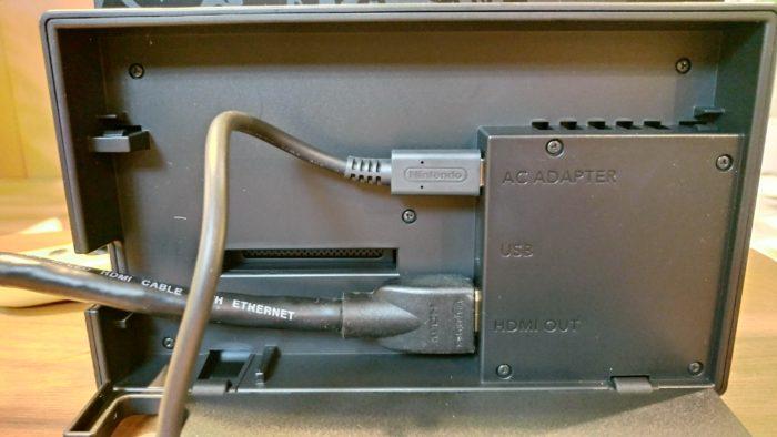 スイッチの映像を外部モニター(テレビなど)