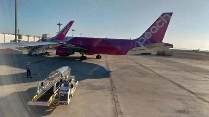 仁川国際空港から関西国際空港