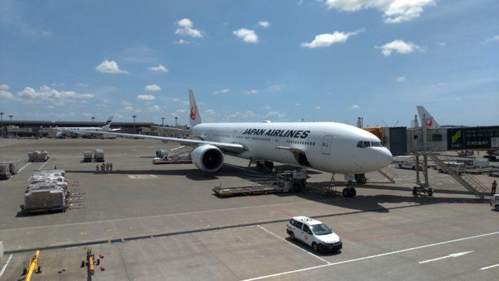 成田国際空港からシカゴ・オヘア国際空港