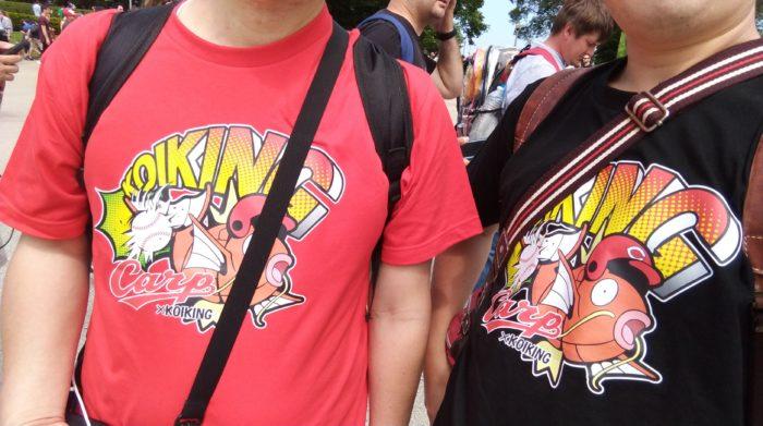 広島カープとコイキングのコラボTシャツ