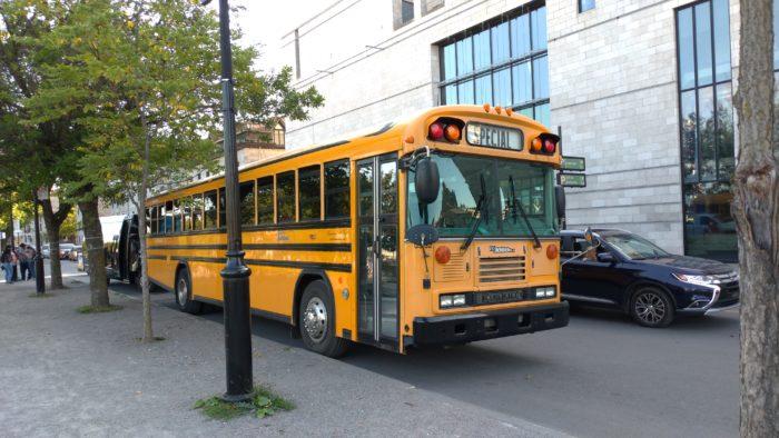 バスに乗る機会