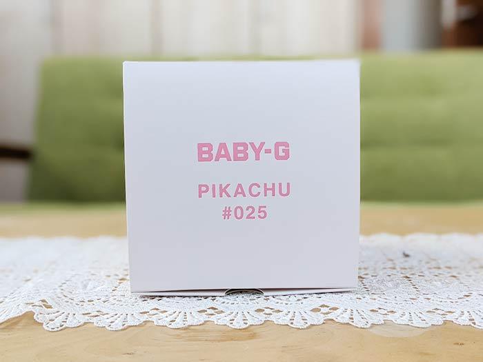 BABY-G 箱からして可愛い