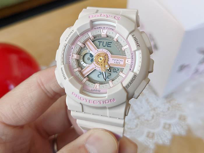 BABY-G 可愛いピンクの腕時計