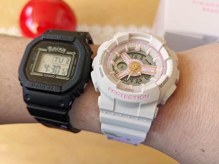 BABY-G ピンクのピカチュウ腕時計の注意点